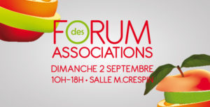 Forum des associations le Cres 2 septembre 2018